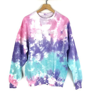 Ariana Grande God is a Woman Tie Dye Sweater Sz M